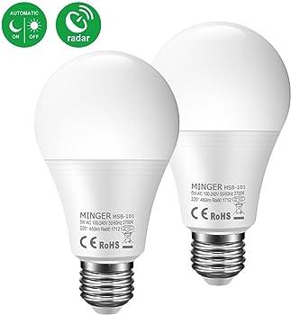 Minger Motion Sensor 50W Smart Light Bulb
