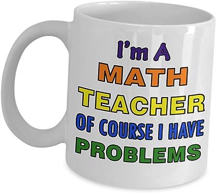 Tasse de Maths Tasse Cadeau Pour mathématicien Professeur Cadeau