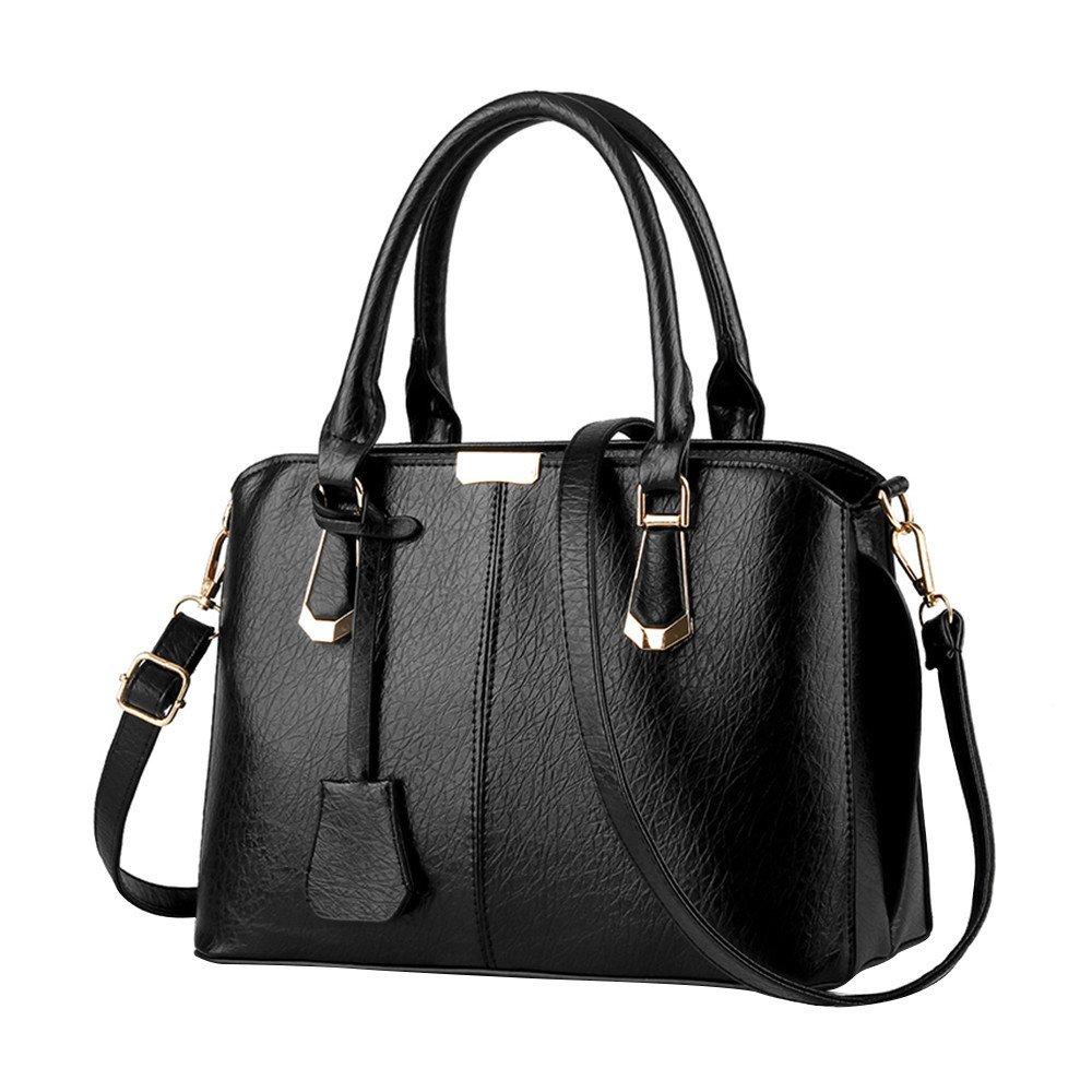 0a9f75146fa0 Amazon.com  JESFFER Ladies bag simple handbag shoulder bag large bag  Messenger bag (1
