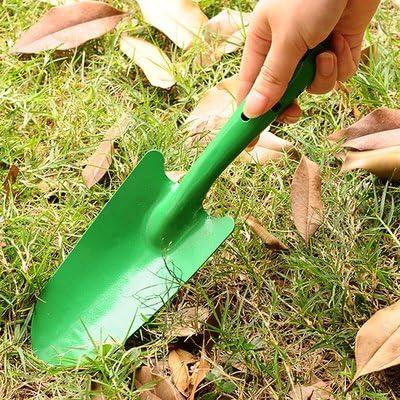 El jardín de pie mini pala home herramientas de jardinería palas de hierro flor cavar Cavar plántulas de cuchara, herramientas de hierro para: Amazon.es: Hogar