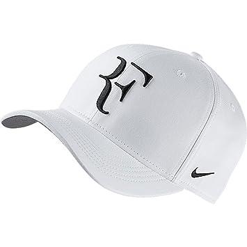 Nike Roger Federer U Nk Arobill Clc99 Gorra, Hombre, Blanco (White/Flint Grey/Black), Talla Única: Amazon.es: Deportes y aire libre
