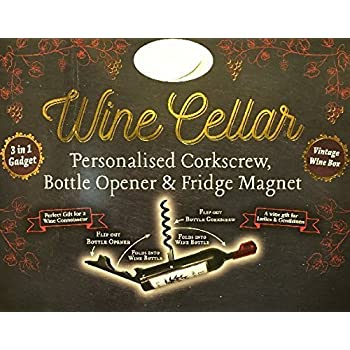 Amazon Com The Wine Cellar Bottle Opener Corkscrew Names
