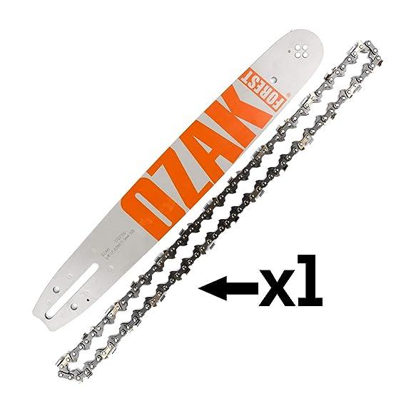 Cadena + espada para motosierra 35cm 3/8 1,3mm 52E=Oregon ...