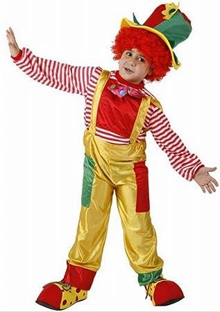 Desconocido Disfraz de payaso para niño: Amazon.es: Juguetes y ...