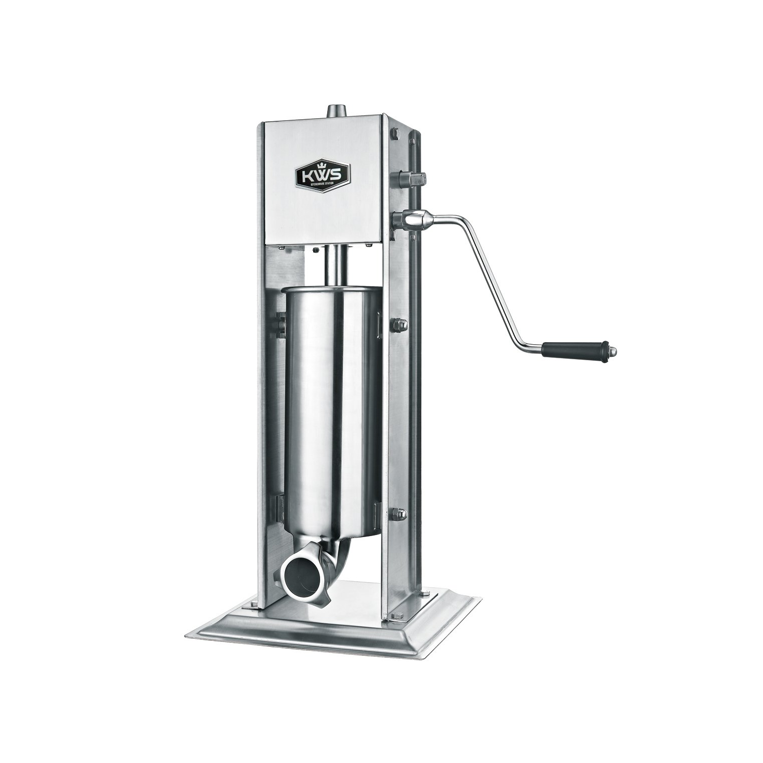 KWS Professional Commercial Sausage maker Sausage Stuffer ST-5L/11LB heavy duty gear system by KitchenWare Station