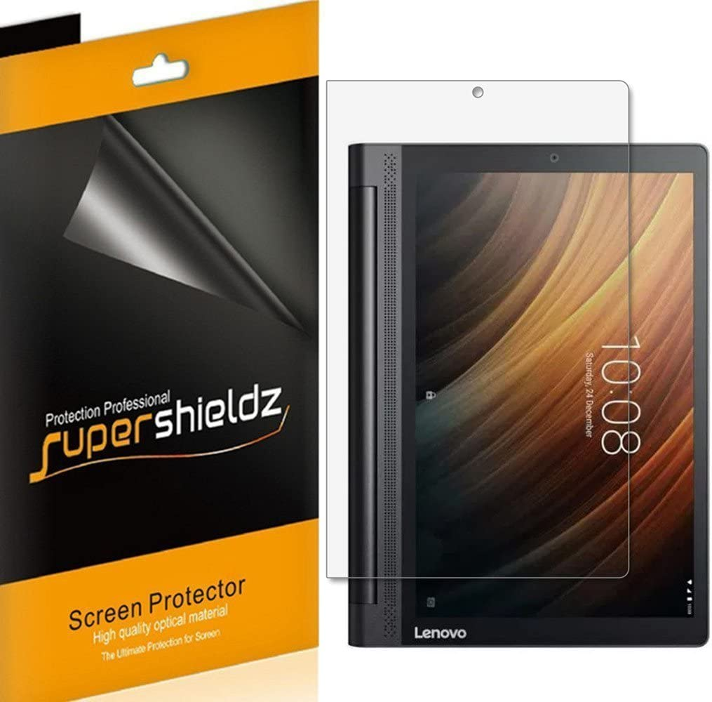 (3 Pack) Supershieldz for Lenovo Yoga Tab 3 Plus 10.1 inch Screen Protector, Anti Glare and Anti Fingerprint (Matte) Shield