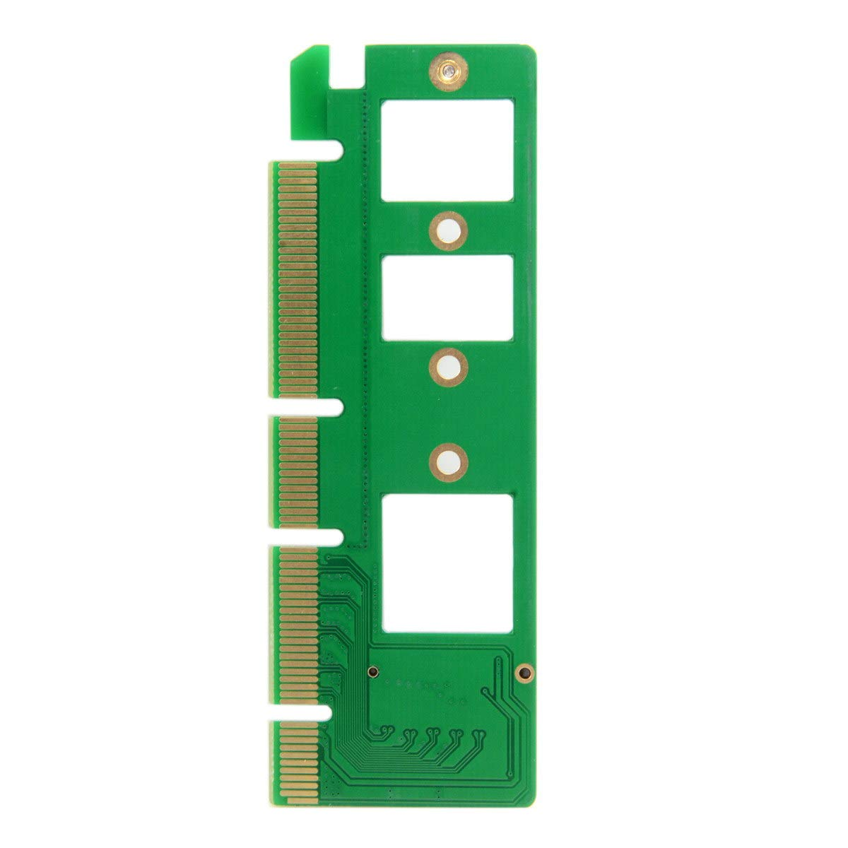 Cablecc NGFF M-Key NVME AHCI SSD to PCI-E 3.0 16x x4 Adapter for XP941 SM951 PM951 A110 m6e 960 EVO SSD by cablecc (Image #3)