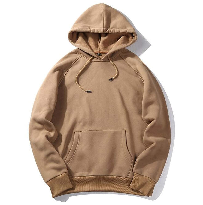 spyman Fashion-hoodies Men Hoodie Thick Clothes Men Hip Hop Streetwear Solid Fleece Hoody Harajuku Casual Male Clothing