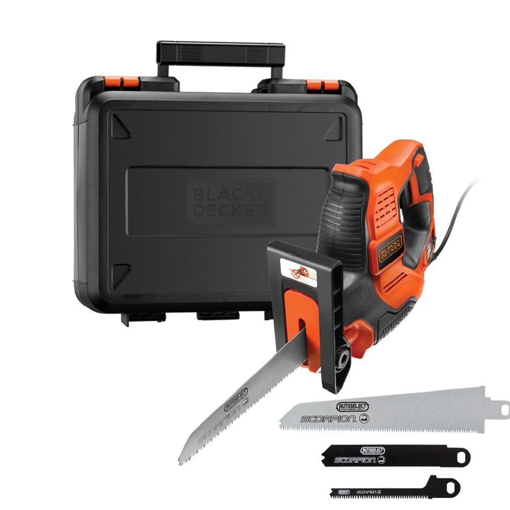 RS890K Autoselect Scorpion Saw 500 Watt 240 Volt by BLACK+DECKER