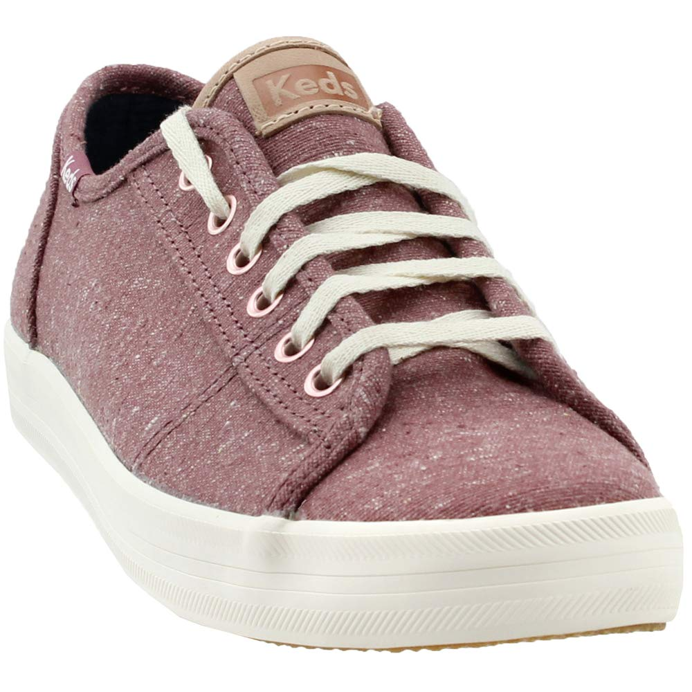 Pink Keds Womens Kickstart Speckled Canvas Sneakers