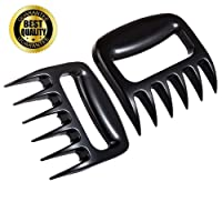 Meat Claws Kwanan Bear Claw Meat Shredder Set of 2 Pulled Pork Shredder Claws- Heat Resistant Nylon-BBQ Grill Tools and Smoking Accessories for Carving, Handling, Lifting, Grilling