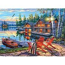 Buffalo Games Darrell Bush: Loon Lake Jigsaw Puzzle (1000 Piece)