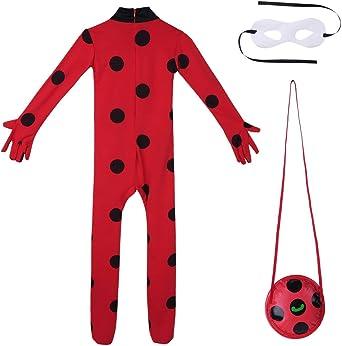 Disfraz Halloween Niña Vampira Cosplay Ladybug Novia Cadaver ...