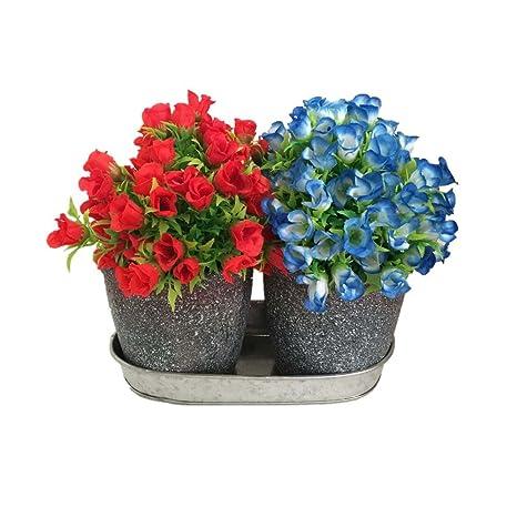 Delicieux WANDERBAL HOME Succulent Plant Garden Window Box Flower Pots With Saucer  Set Of 2 For Indoor