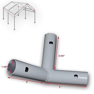 3-Way Corner Bracket for 10' X 20' Caravan Canopy Domain Carport Garage Parts D : Garden & Outdoor