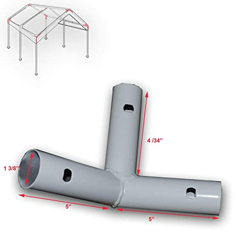 Amazon.com 3-Way Corner Bracket for 10u0027 X 20u0027 Caravan Canopy Domain Carport Garage Parts D Garden u0026 Outdoor  sc 1 st  Amazon.com & Amazon.com: 3-Way Corner Bracket for 10u0027 X 20u0027 Caravan Canopy Domain ...