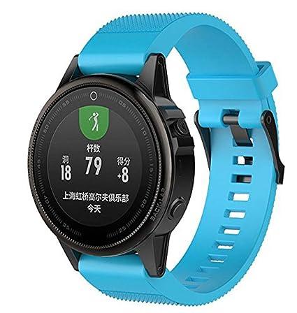 Vicstar Garmin Fenix 5S Plus Reloj de Pulsera, Smart Watch Pulsera Correa de Cierre Rápido