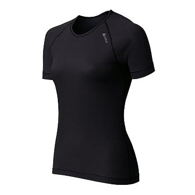 Odlo - Ropa interior para mujer, tamaño XS, color ebony gris - negro