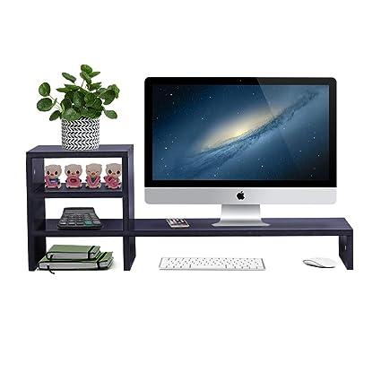 ufine impresora de gran madera Monitor del ordenador soporte ...