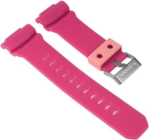 Casio Ersatzband Uhrenarmband Resin Band Pink für GA 310 GAC  HbjTP