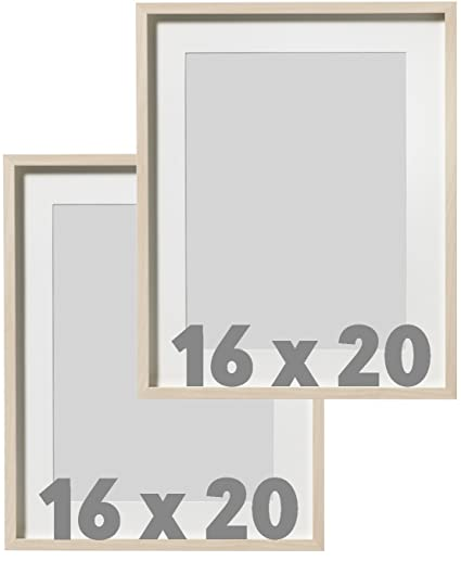 Amazon.com: IKEA Wall Picture Frame Natural Wood - 16 x 20 inches ...