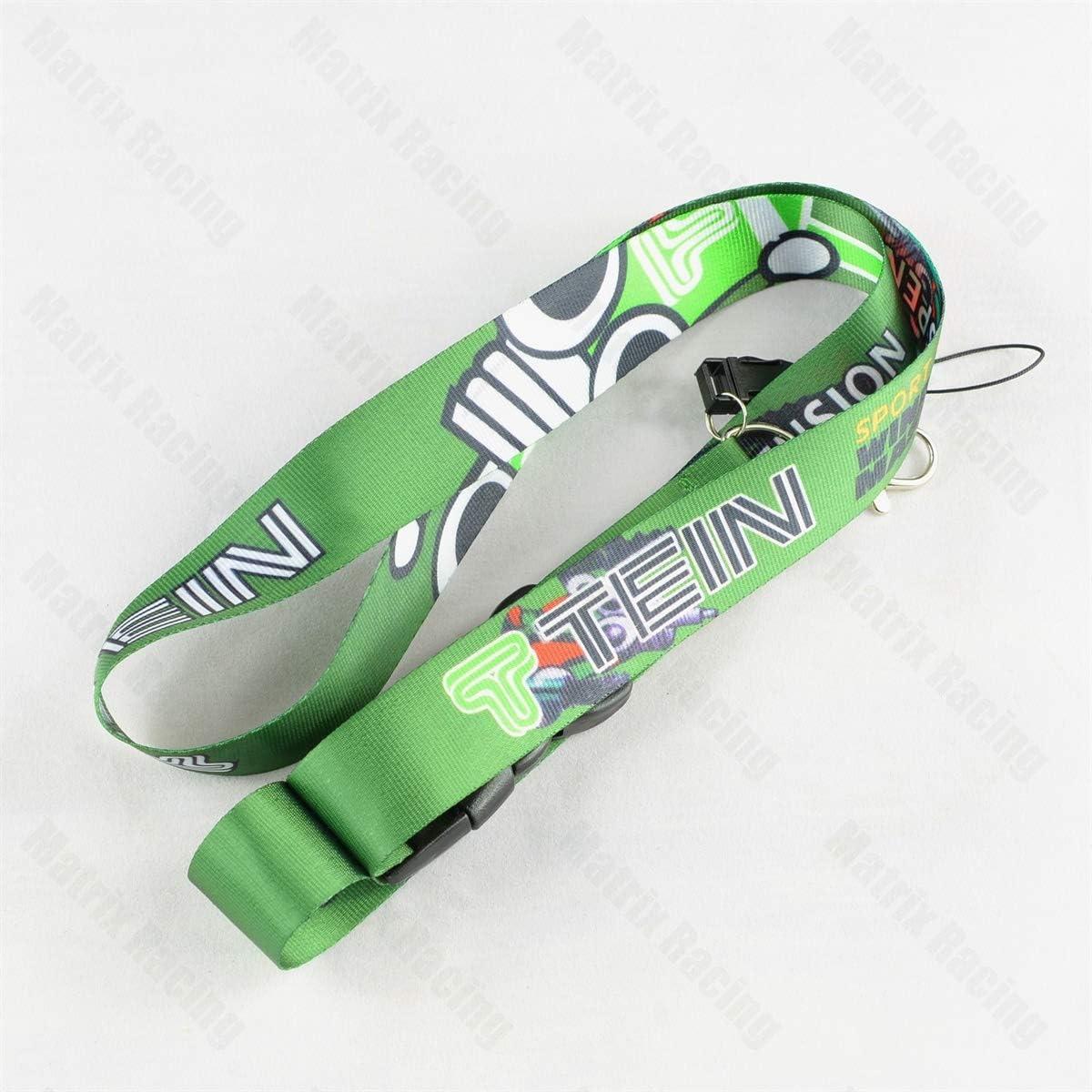 JDM Style for TEIN Cellphone Lanyard Racing Car Keychain ID Card Neck Strap for Mitsubishi Subaru Honda Toyota