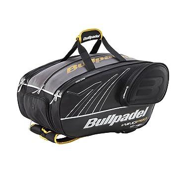 Bull padel BPP15001 - Bolsa, Color Negro/Pistacho, 57 x 30 x 35 cm: Amazon.es: Zapatos y complementos