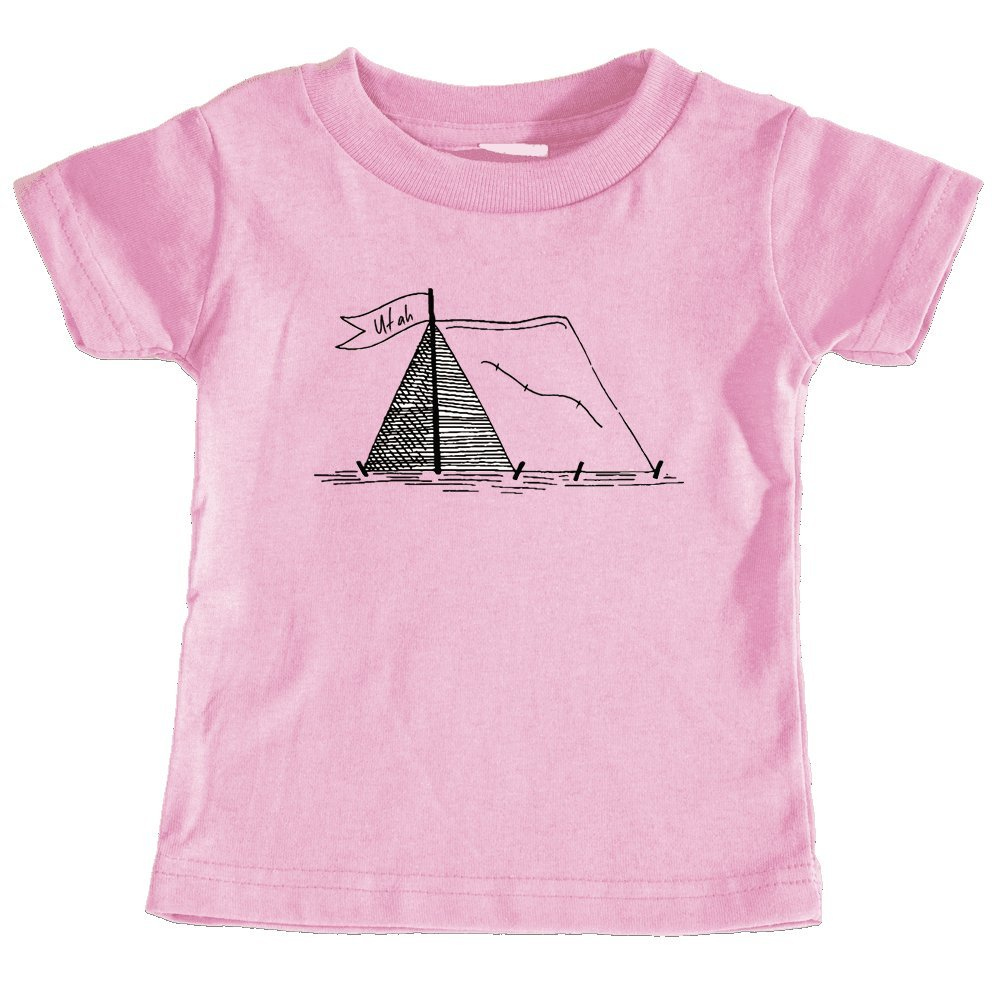 Utah Camping Hand Drawn Unisex Infant T-Shirt