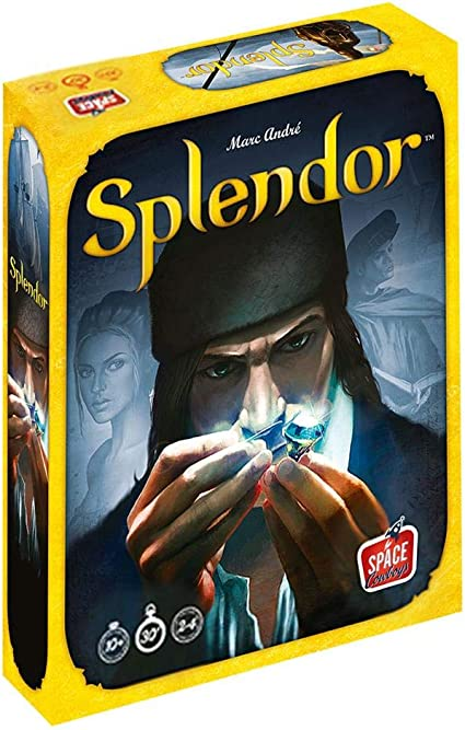 Amazon.com: Asmodee Splendor Strategy Game Spanish Version -: Toys & Games