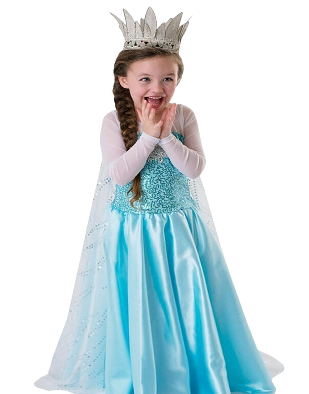 Amazon.com: iFigure Girl\'s Princess Dress up Costume Fancy Party ...