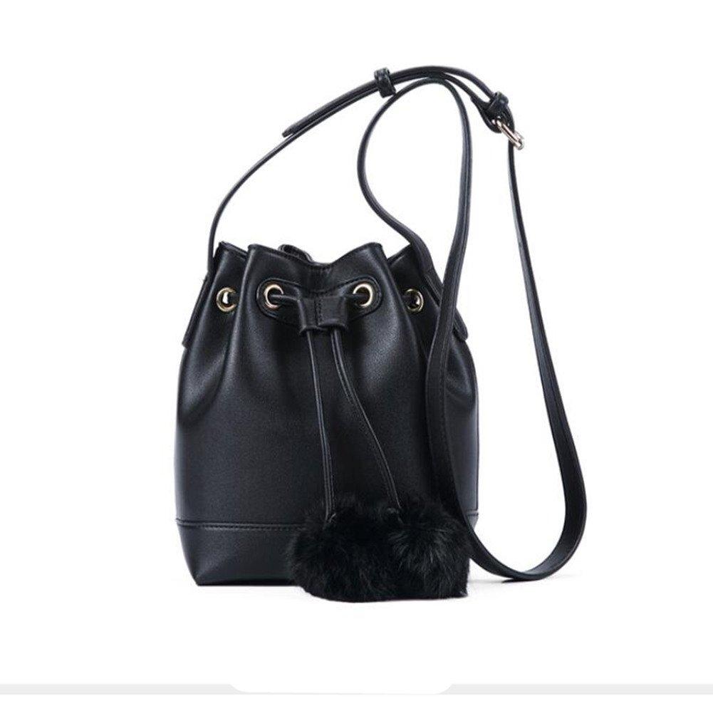 ZL Einfache Eimer Schulter Koreanische Handtasche Wilde Messenger Gezeiten