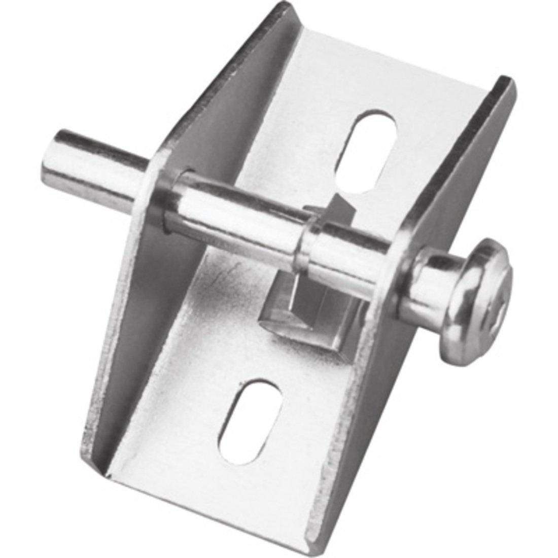 CRL Aluminum Finish ''Push-Pull'' Door and Window Lock by CR Laurence