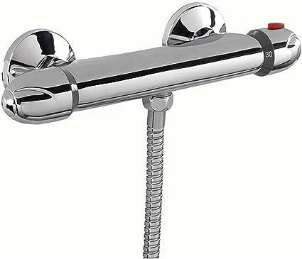 ENKI Miscelatore termostatico esterno per doccia tondo