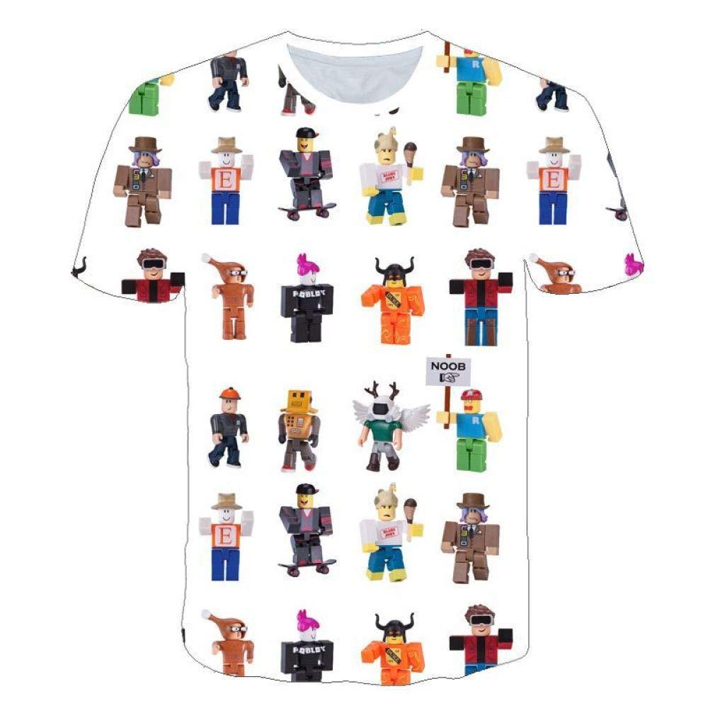 God Driver Camiseta Juego Niño Y Niña / / para Niños 3D Digital Impresión por Roblox Modelo Corto Manga Casual Parte Superior Suelto / A1 / S