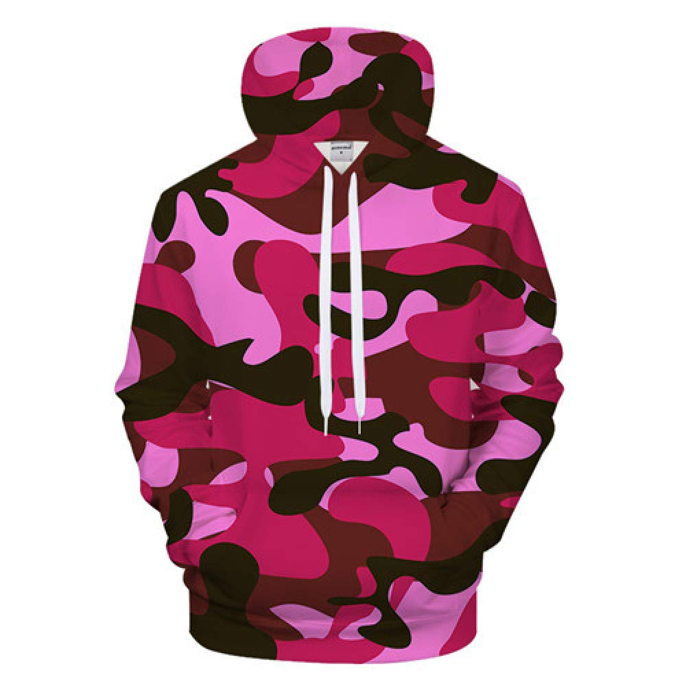 GUQIYA 3D Camo Hoodies Lässige Sweatshirt Trainingsanzug Mit Kapuze Pullover