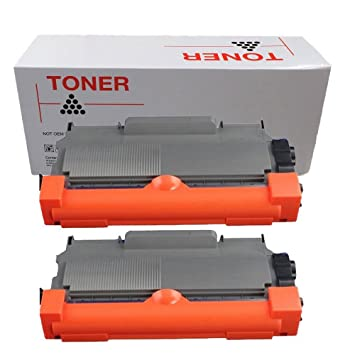 Pack de 2 DOREE TN2220 cartucho de tóner láser para Brother HL ...