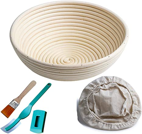 Rattan Bread Proofing Proving Basket Dough Rising Basket Banneton Brotform