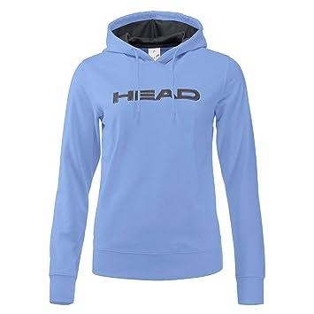 Head – Rosie Mujer Tenis Hoodie (Color Azul Claro/Oscuro)