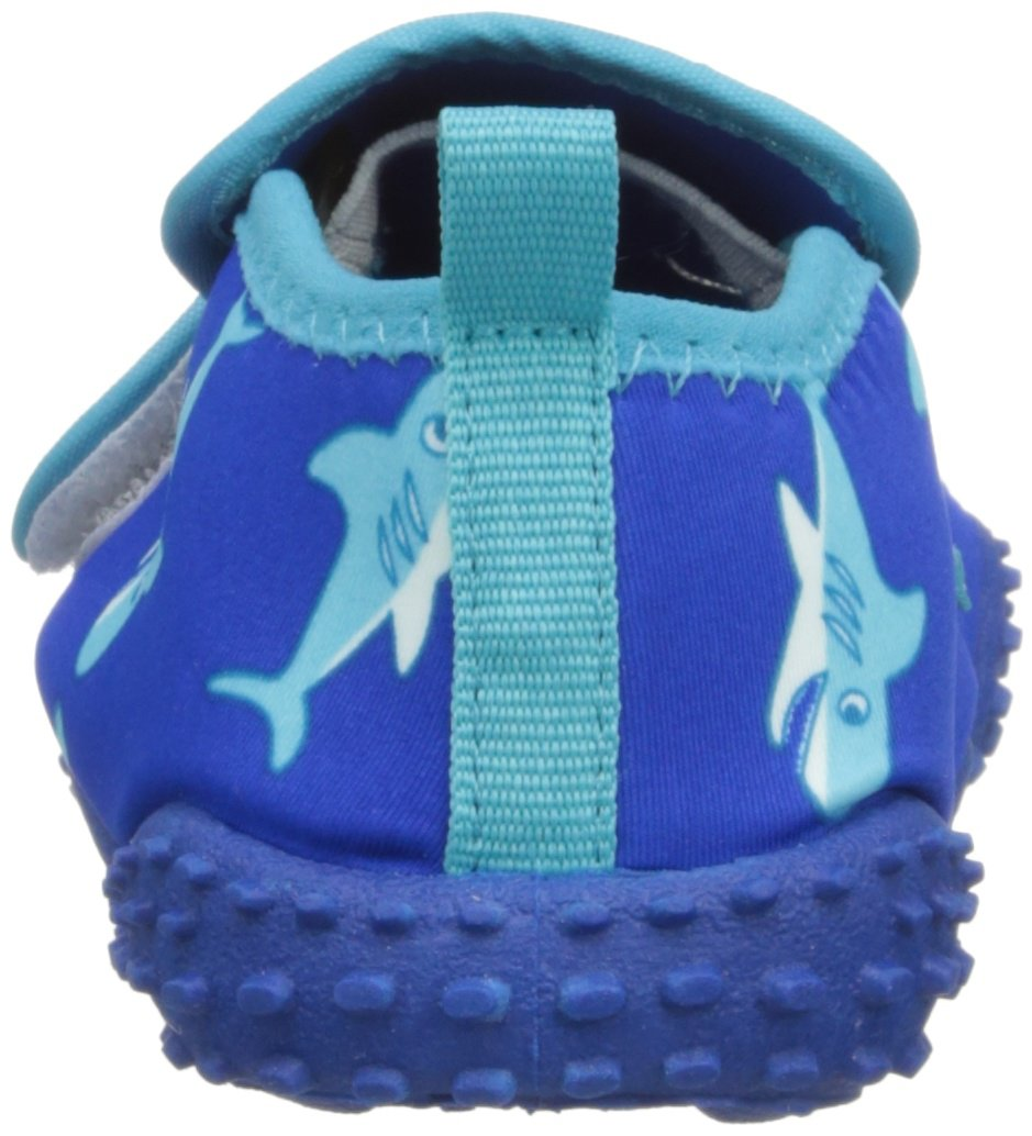 Playshoes Boys UV Protection Shark Collection Aqua Swimming/Beach Shoes (11.5 M US Little Kid) by Playshoes (Image #2)