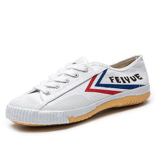 Feiyue, Scarpe da arti marziali uomo Bianco bianco, Bianco (bianco), 40 EU