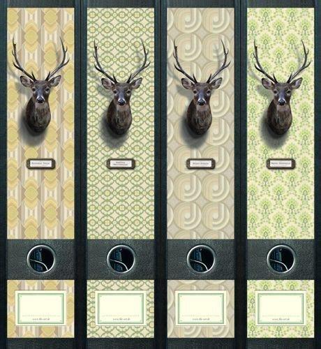 File Art AJ442 Design Etiketten Ordnerrückenschilder