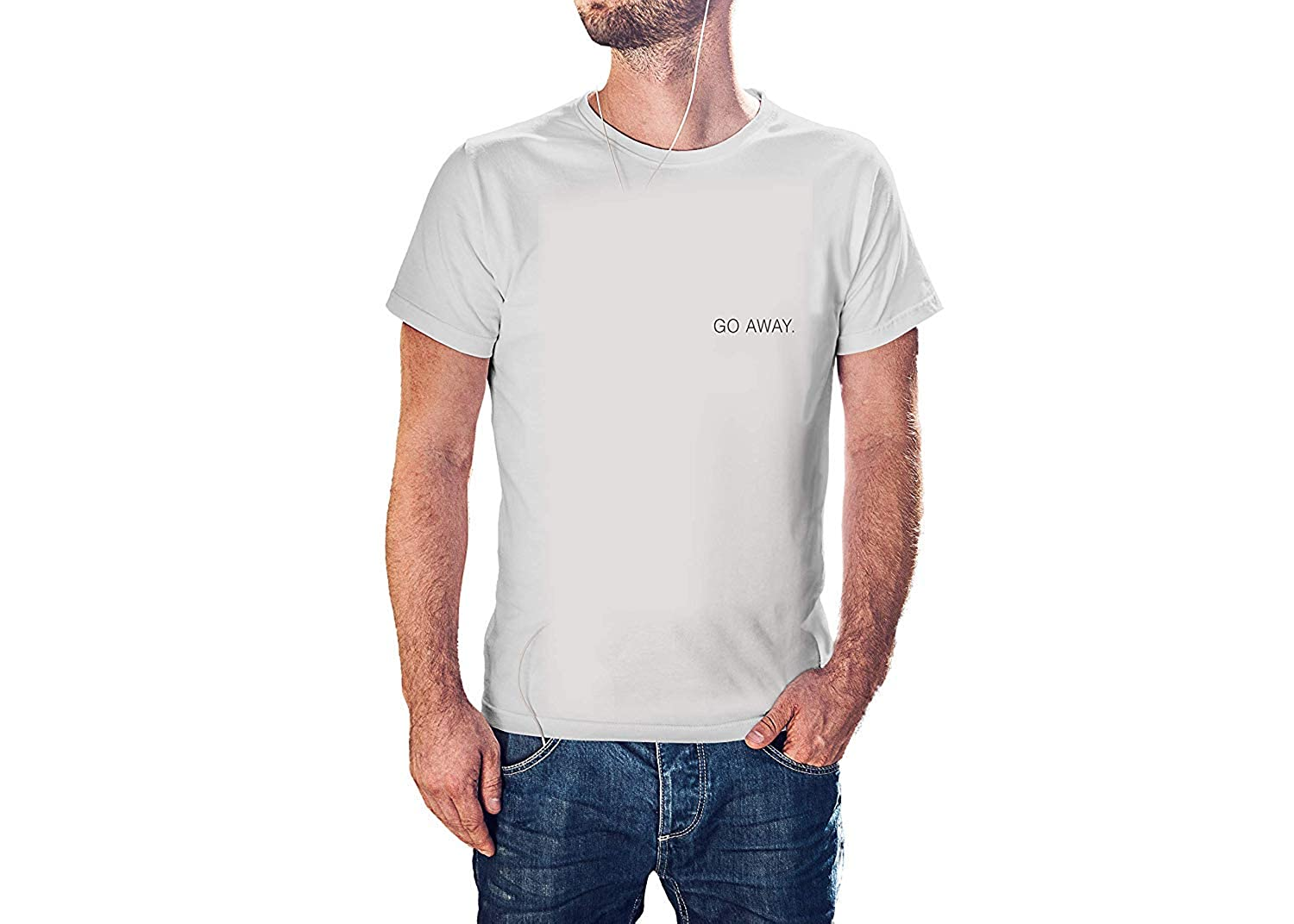 Kilsd GO Away T-Shirt J847 Modern Cool Tees for Men