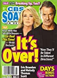 Eric Braeden, Melody Thomas Scott, Young and the Restless, Bold and the Beautiful on Skid Row, Jack & Carly As the World Turns Wedding Album - November 22, 2010 CBS Soaps in Depth Magazine [Soap Opera]