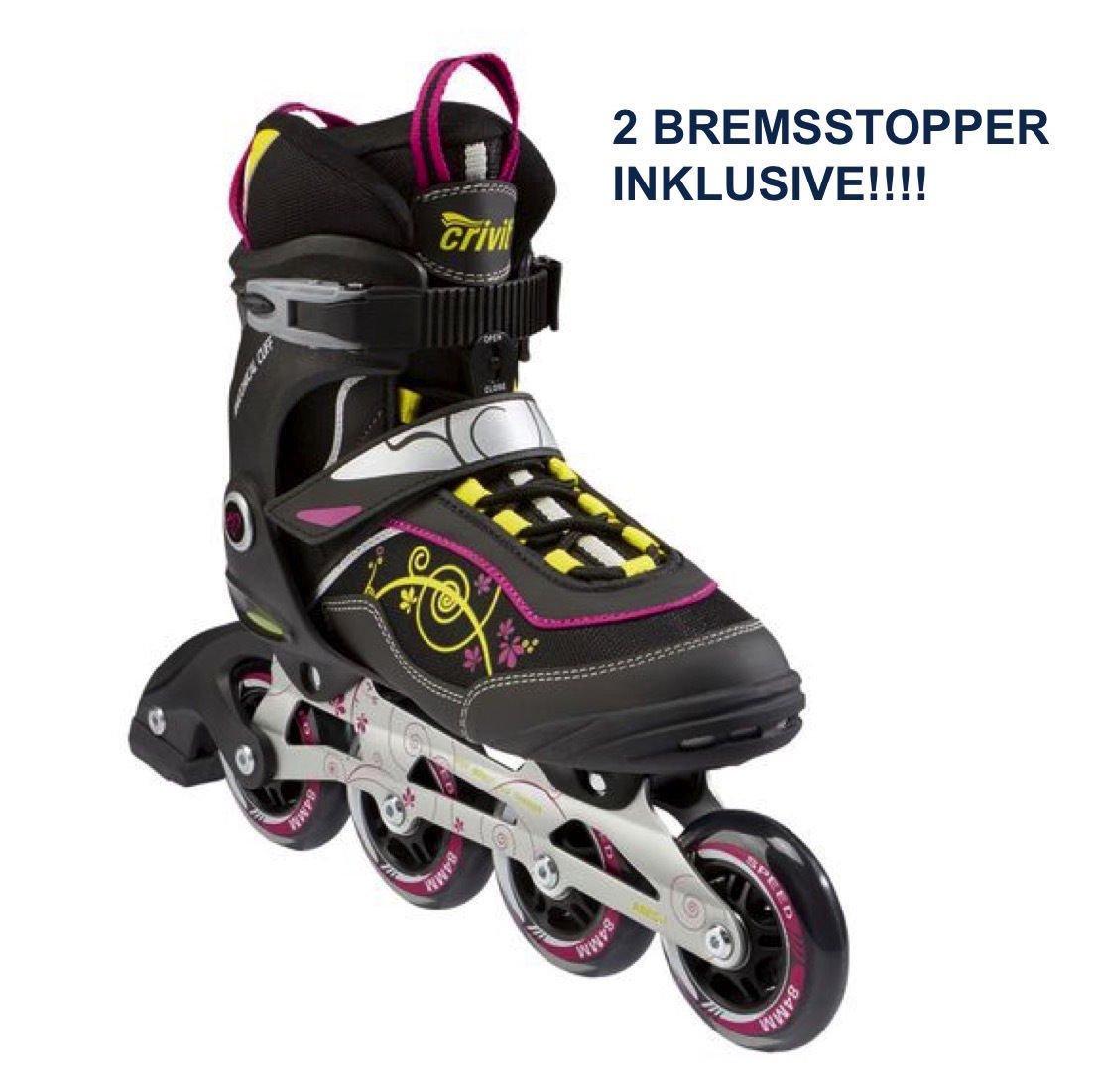 Damen Skates Bremsstopper Crivit Inline Gr402 xrdeCoWB