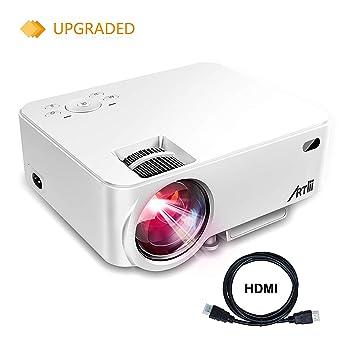 Artlii - Proyector portátil (LED, 1500 lúmenes): Amazon.es ...