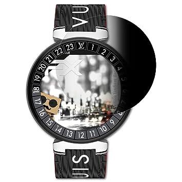 atFoliX Filtre de confidentialité pour Louis Vuitton Tambour Horizon 2 Film de Protection confidentiel, Vie