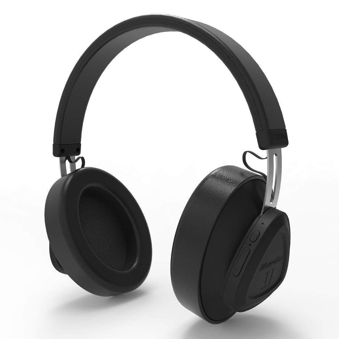 bd9247f300d Bluedio TM Bluetooth 5.0 On-Ear Headphones Voice: Amazon.in: Electronics