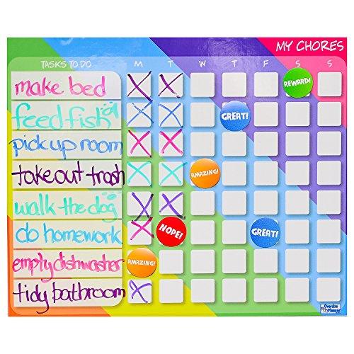 oversize calendar behavior chart for kids magnetic chore charts