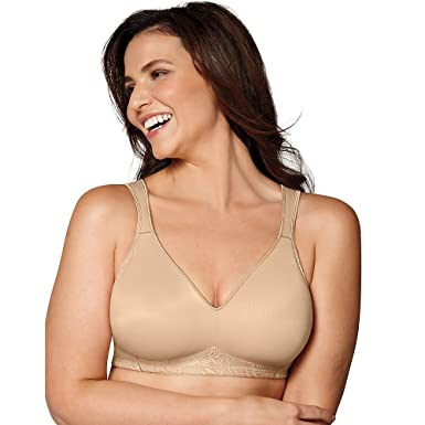 c191b0f6668 Image Unavailable. Image not available for. Color  Playtex Women s 18 Hour  Side and Back Smoothing Wirefree Bra