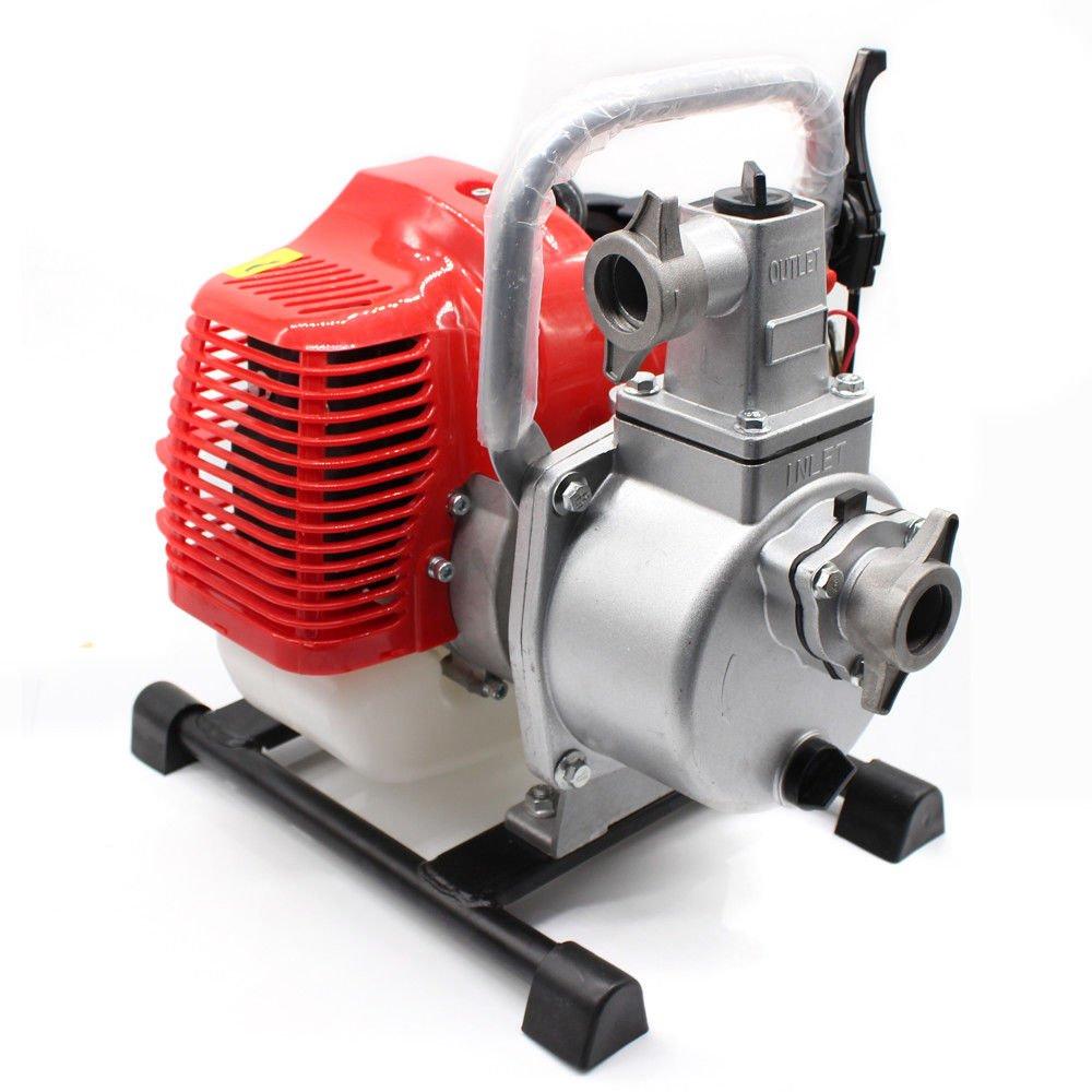 OBLLER 1' Petrol Water Pump 2 STROKE ENGINE Booster Pump High Power Pump 43CC